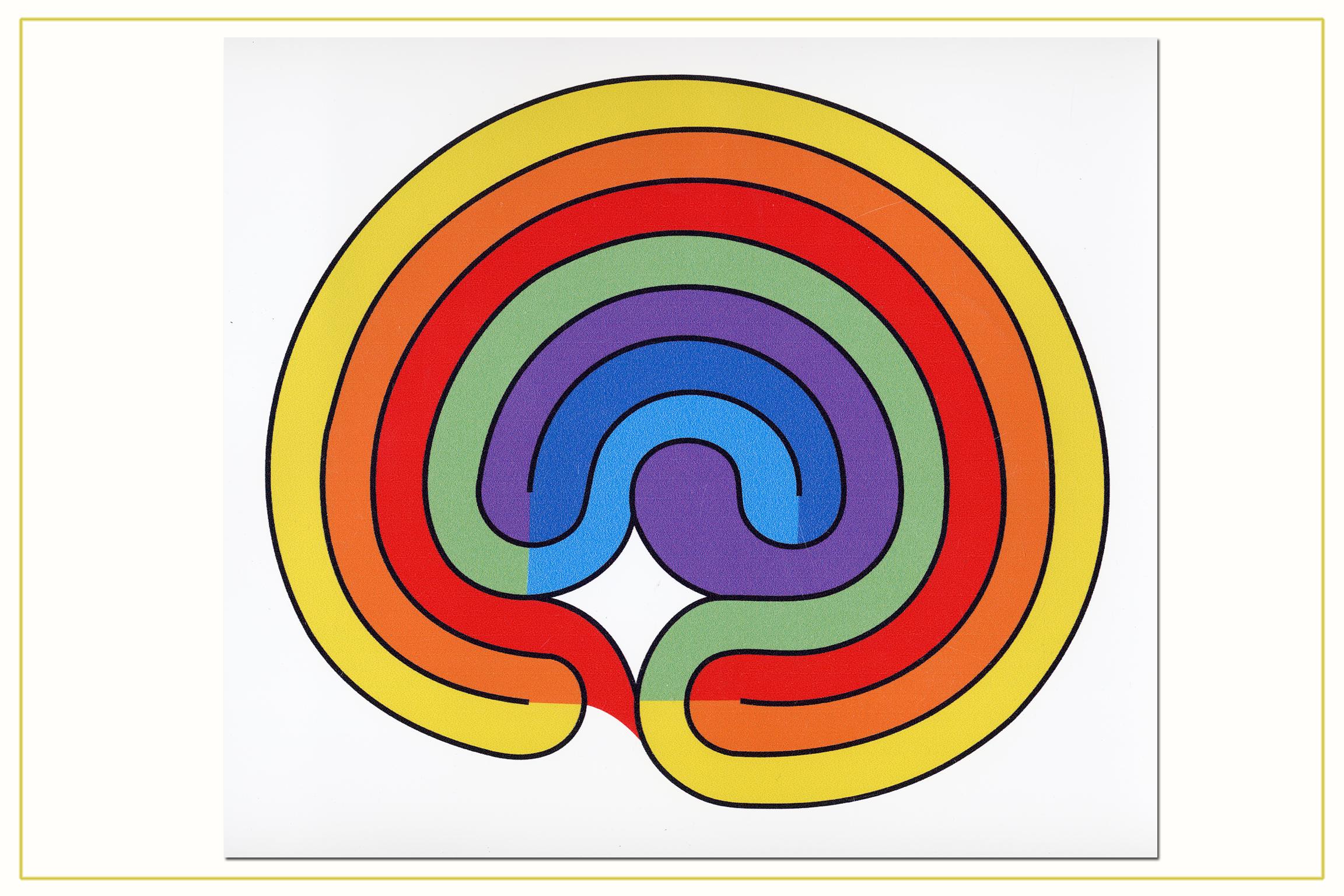 """Magnetas """"Čakrinis labirintas"""""""