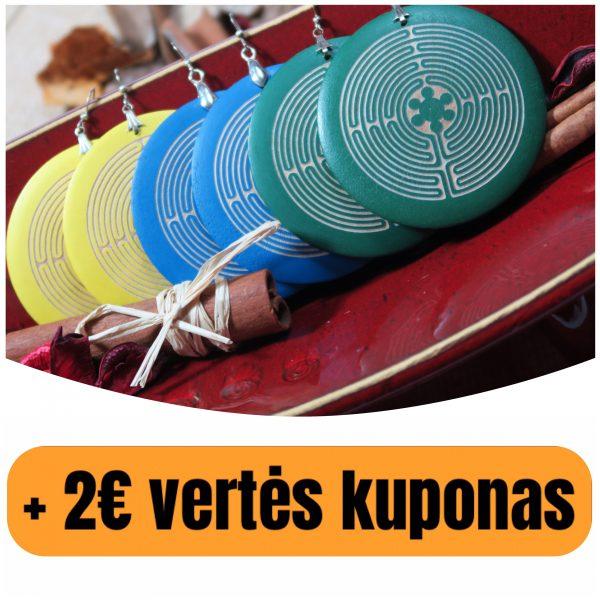 """Mediniai auskarai """" Vidinio Aš Labirintas-2″(+ 2€ kuponas)"""